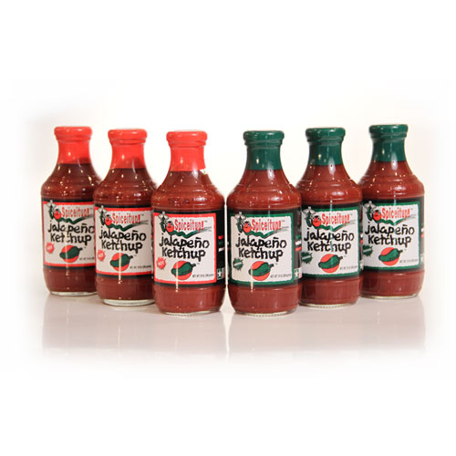 Jalapeno Ketchup 6 Pk - 3 Hot & 3 Medium